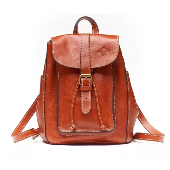 286d137b5bc873 Patricia Nash Bags | Aberdeen Italian Leather Backpack | Poshmark